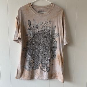 The Mountain Hippo Color Me In Tee